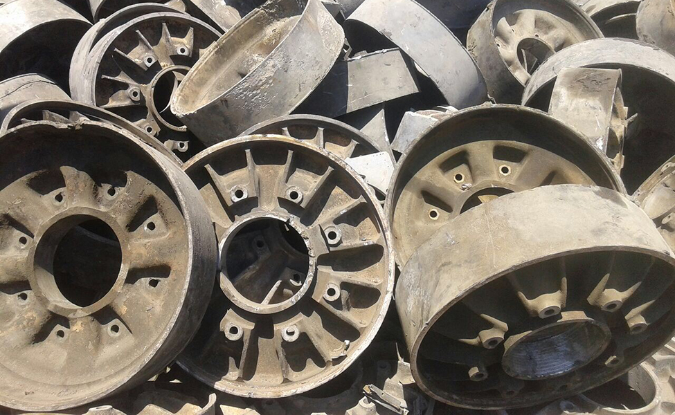 Aluminum Wheels as per ISRI